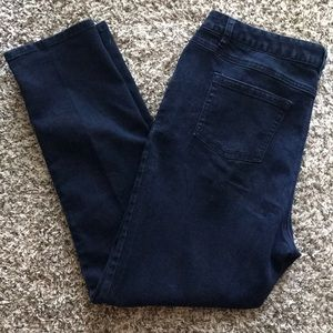 Michael Kors Straight Leg Dark Wash Jeans size 16W